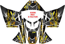 SKIDOO SNOWMOBILE WRAP REV,XP, XR,XS,XM MXZ  99-16  STICKER DECAL X Factor