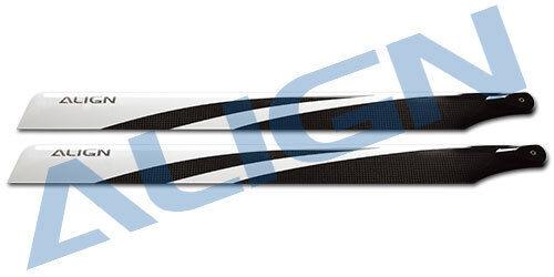 Align 550 3G Carbon Fiber Blades (HD550BT)