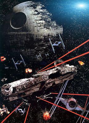Lego Star Wars Millennium Falcon Large Poster Art Print Maxi A0 A1 A2 A3 A4