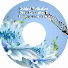 2x Guided Meditation Finding Inner Peace & Bonus Deep Relaxation on 1 CD Healing