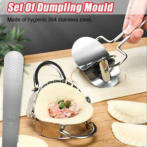 Set Of Dumpling Mould Maker Slicer /Cutter Stainless Steel DIY Easy Kitchen Tool