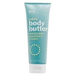 BLISS-Naked-Body-Butter-Maximum-Moisture-Cream-6-7-oz-200-ml-NWOB