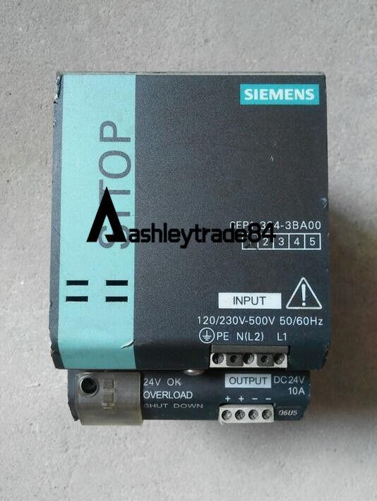 Utiliza Utiliza Utiliza el Módulo de Fuente de alimentación Siemens 6EP1334-3BA00 24VDC 10A f55704