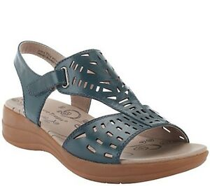 BareTraps-Perforated-Leather-wedge-Sandals-Jordy-pick-size-color-new