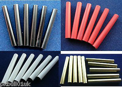 Woodturning 7mm Pen Tubes - Standard/Red/White/Black/Blue