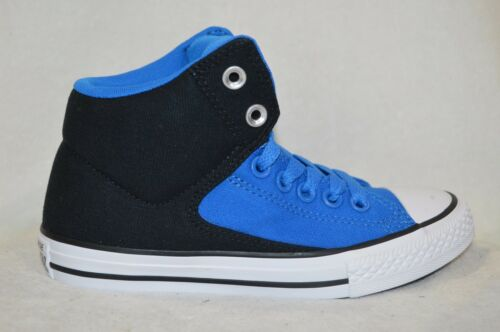 Converse Boy/'s CT All Star High Street Blue//Black//White Sneakers-Size 12//2//3 NWB