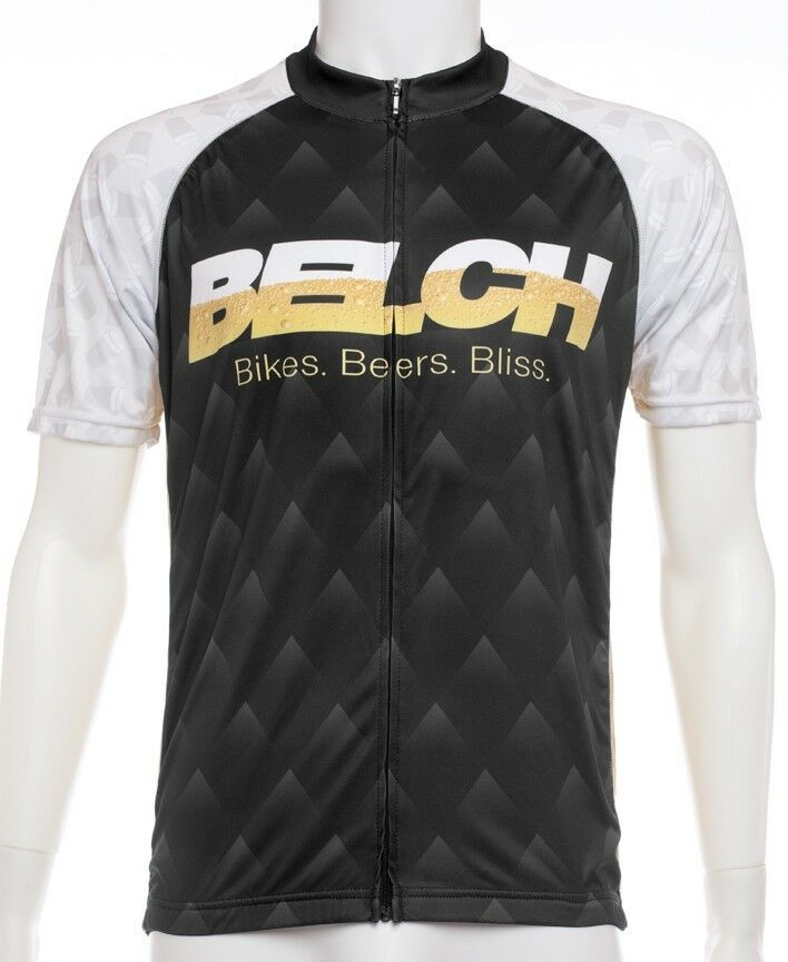 BELCH  Dark Cycling Jersey by BELCH. Founded from Fun.  wholesale