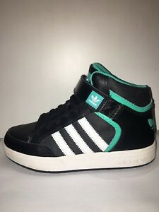 Details about Adidas Originals Model Varial MID J Leather Kids Shoes Black,White,Turquoise