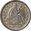 thumbnail 1 - 1840-O Seated Liberty Quarter Nice XF Nice Eye Appeal Nice Strike