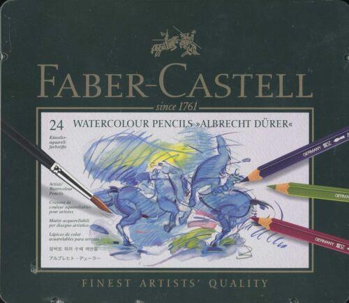 Faber-Castell 24 piece Watercolur pencils Albrecht Durer NEW tin case
