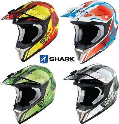Shark SX2/Bhauw motocross casco