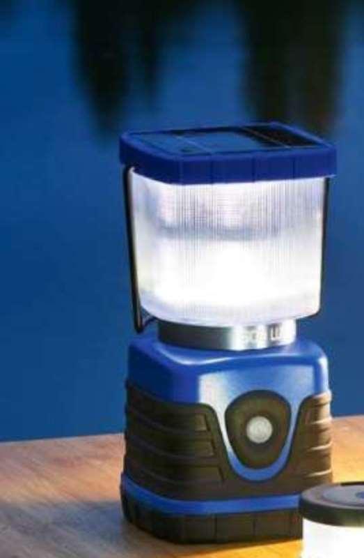LED luz camping solar u. funcionamiento con pilas, 500 lúmenes, micro USB, sos luz parpadeante