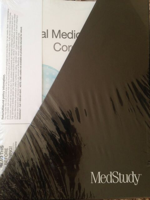 MedStudy Internal Medicine Review Core Curriculum 17th Edition 2017-2018