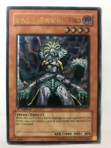 YuGiOh-EEN-AE022-1st-Edition-Ultimate-Rare-Brron-Mad-King-of-Dark-World-ASIAN