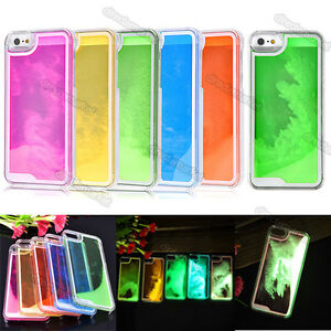 iphone 5s glow in the dark case glow in the noctilucent running sand liquid cover 20486