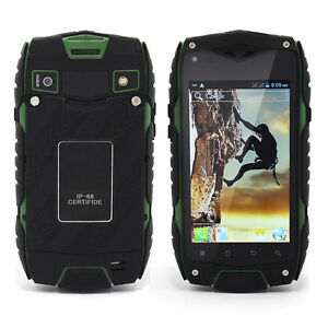 4 Quot Jeep Z6 Smartphone Quad Core Rugged Android Mobile
