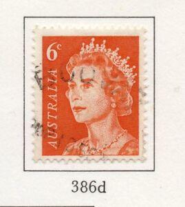 100% Vrai Australie 1966-71 Early Question Fine Utilisée 6 C. 196211-afficher Le Titre D'origine