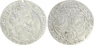 Polen-6-Groescher-1623-Sigismund-III-1587-1632-sehr-schoen
