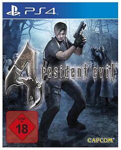 Sony-ps4-PlayStation-4-juego-residente-Evil-4-HD-neu-new-18