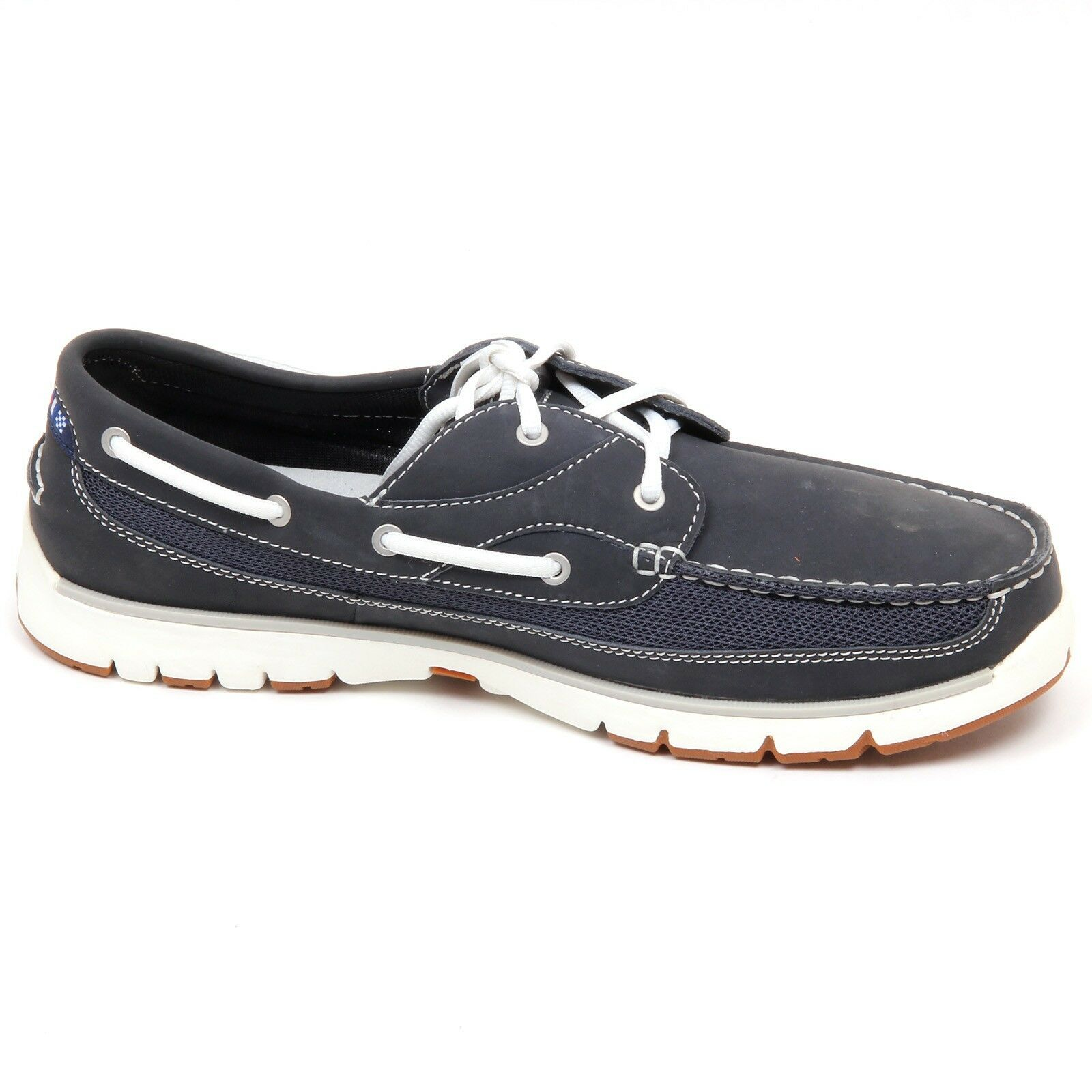 D5064 (SAMPLE (SAMPLE (SAMPLE NOT FOR SALES WITHOUT BOX) mocassino uomo blu L.L.BEAN shoe man 509649