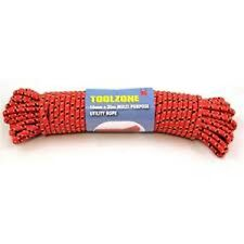 9mm x 30m strong heavy duty braided rope camping Utility towing car van