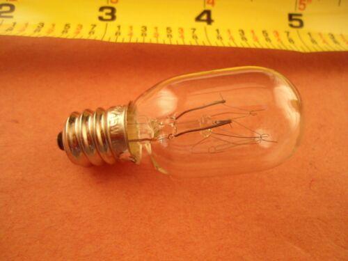 2 Screw In Clear Light Bulbs Juki MO-623,MO-104D,MO-634D,MO-644D,MO 654DE,MO655