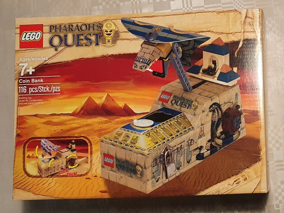 Lego Pharaohs Quest, 853175 Sparegris (Coin Bank)