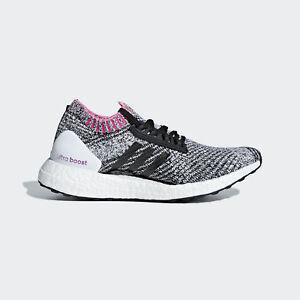 Detalles acerca de Adidas Ultraboost X [BB6524] Mujeres Zapatillas Para  Correr Blanco/Negro-Rosa- mostrar título original