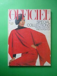 L-039-Officiel-Paris-Septembre-1977-September-Collections-Haute-Couture-Pret-Porter