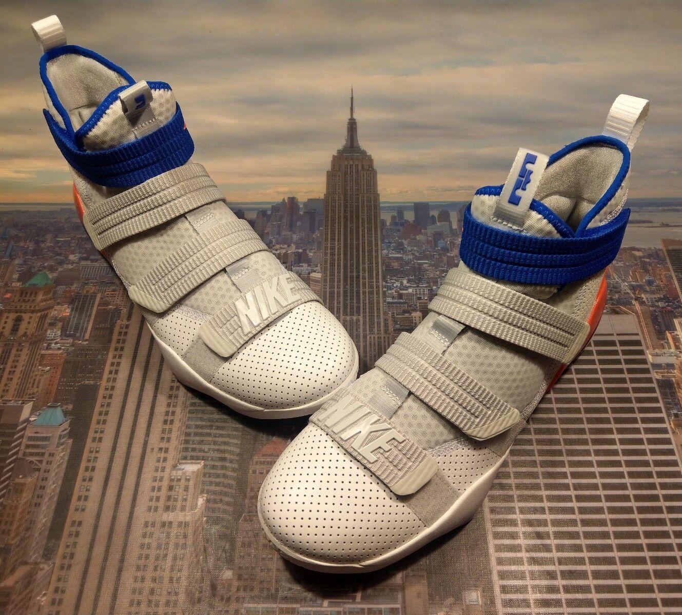 Nike LeBron Soldier XI 11 Size SFG Ultramarine White/Racer Blue Size 11 14 897646 101 d98c68