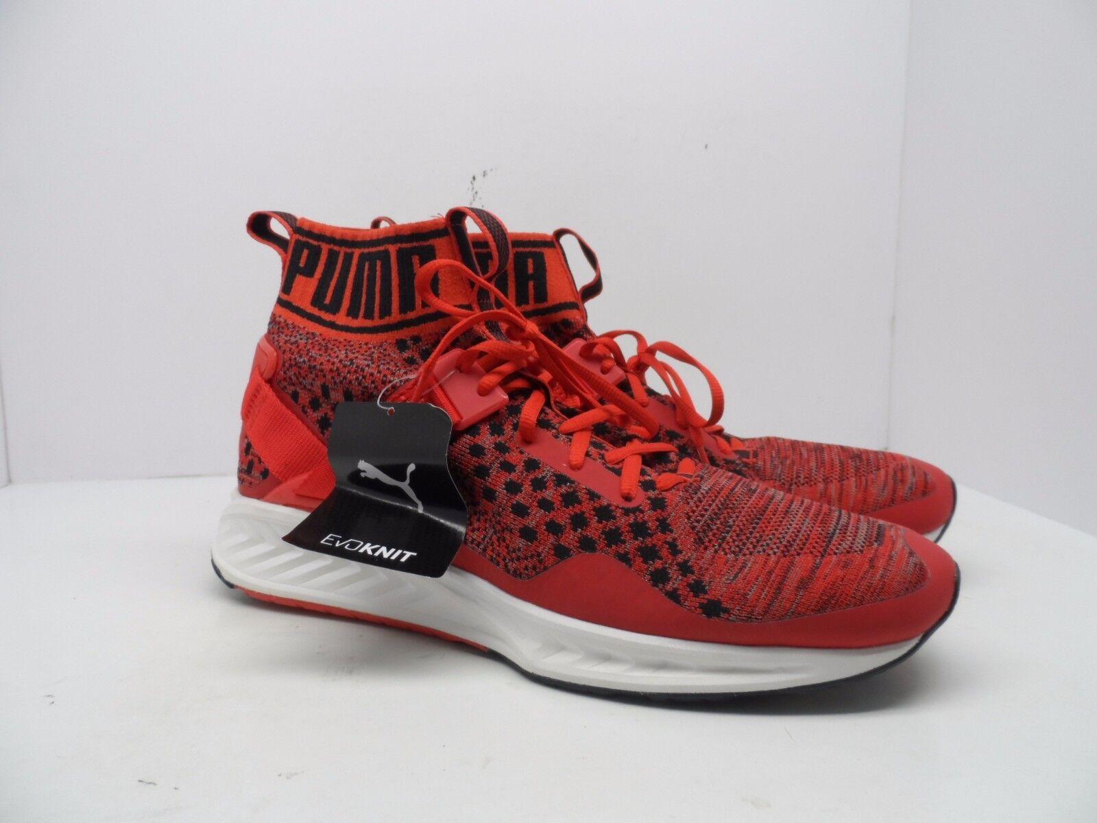 Puma hombre Ignite negro evoknit zapatillas rojo / negro Ignite / blanco cómodo 9247f3