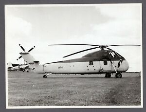 WESTLAND-WESSEX-HELICOPTER-LARGE-ORIGINAL-VINTAGE-MANUFACTURERS-PHOTO-NAVY