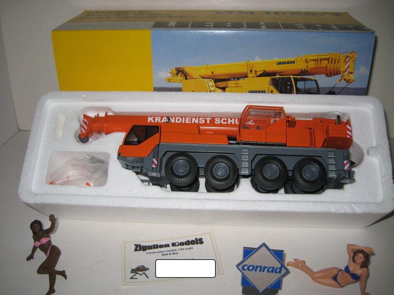 Liebherr LTM 1060-2 auto Gru Gru servizio Schulz  2094.23 Conrad 1 50 OVP