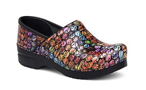 a081b86a0f29 Image is loading NIB-Dansko-Professional-Leather-Clog-in-Script-Patent-
