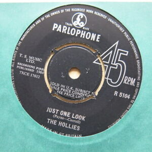 THE-HOLLIES-Just-One-Look-Keep-Of-That-Friend-Of-Mine-UK-7-034-Parlophone-Nr-Mint
