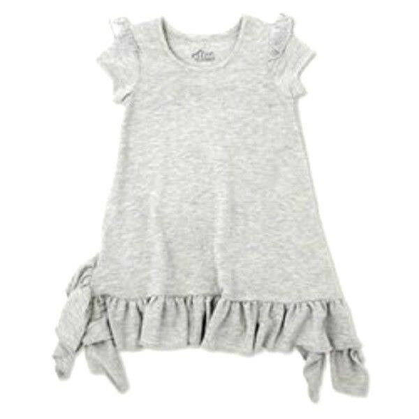 63c8aeaef French Terry a Line Dress Afton Street Toddler Girls' 18 Months Heather  Grey for sale online | eBay