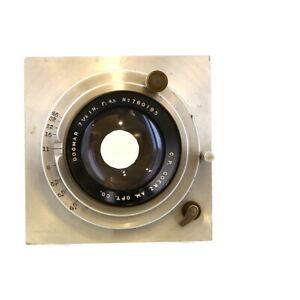 "Vintage CP Goerz American Opt. Co. 7.5"" f/4.5 (190mm) Dogmar Lens - UG"