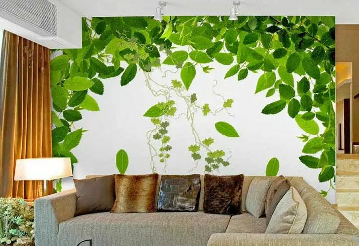 3D Grün plant Photo art 0341 Wall Paper Wall Print Decal Wall Deco AJ WALLPAPER