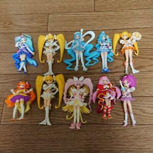 Lot-of-10-Pretty-Cure-Precure-Figure-Doll-Used