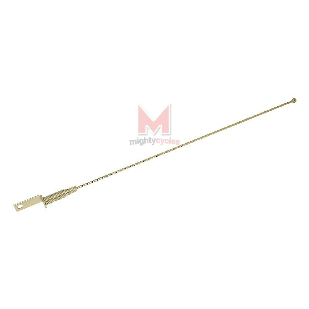 NEW LOWRIDER BIKE Twist Antenna gold BEACH CRUISER CHOPPER BICYCLE ANTENNA