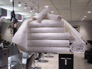 1 dozen new white 16x27 100/% cotton terry hand towels salon//gym 3# dozen