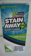 Stain-Away Plus Denture Cleanser - 8.1 oz
