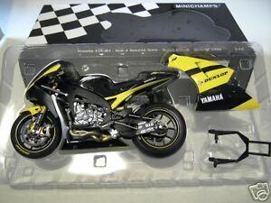 Moto Gp Yamaha Yzr-m1 Dunl 2006 Ellison 1/12 Minichamps