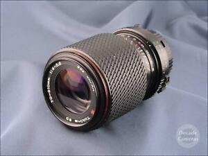 Minolta MD Mount Tokina SD 70-210mm  f4-5.6 Mid to Long Zoom - VGC - 9469