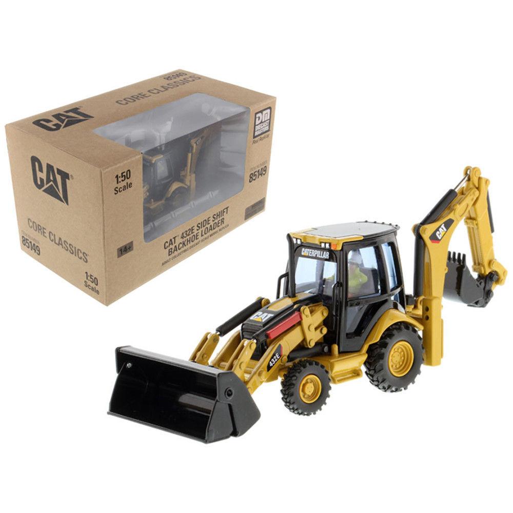 Caterpillar CAT 432E déplacement latéral chargeuse-pelleteuse 1 50 par Diecast Masters DM85149