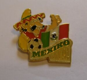 WORLD-CUP-94-USA-SOCCER-MEXICO-Limited-Edition-500-vintage-pin-badge-Z8J