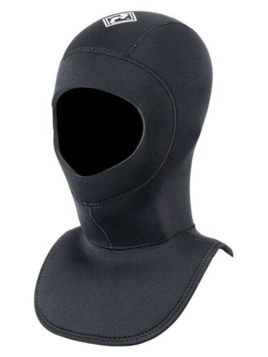 7mm Diving Hood /& Wetsuit Boots Two Bare Feet Neoprene Wetsuit Set 5mm Gloves