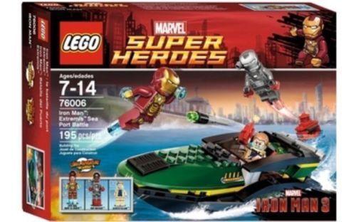LEGO 76006 Marvel Super Heroes Iron Man Extremis Sea Port Battle NEW