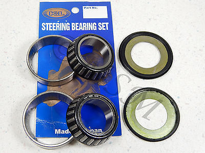 HONDA NEW K&L STEERING STEM SHAFT RACE & BEARING KIT 31-2226
