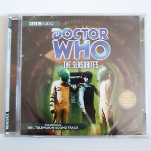 DOCTOR-WHO-The-Sensorites-BBC-Audio-book-CD-sealed-and-unplayed
